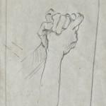 Grafite, studio per scultura di marmo